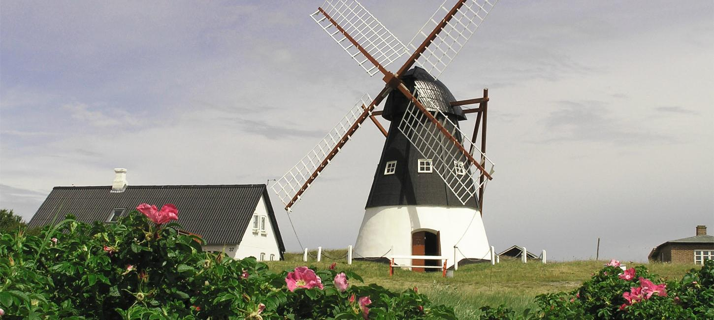 Mandø Mill | By the Wadden Sea
